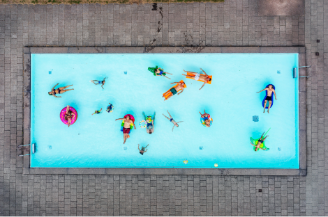 ganadora de los cewe photo awards 2019 ocio piscina